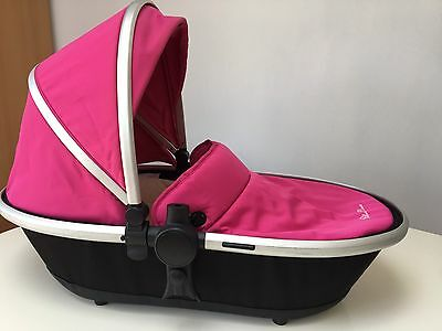 Silvercross Carrycot Hot Pink Colour Pack Used But In Good Order