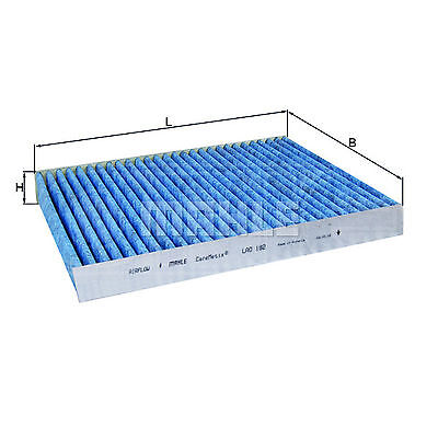 Mahle Car Cabin Filter - LAO182 - Twin Pack