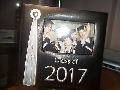 Class Of 2017 Graduation Photo Album Holds 200 4X6 Photos Tassel On Cover
