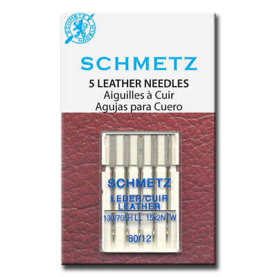 Leather Schmetz Sewing Machine Needles