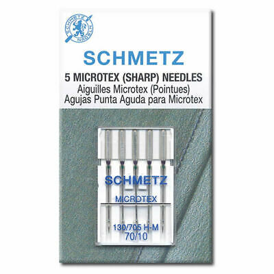 Microtex Schmetz Sewing Machine Needles
