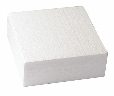 """Square Cake Dummy Set of 1 of each 8"""", 10"""" and 12"""" - 3"""" High - Free P&P"""