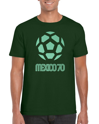 Mexico 70 | FIFA World Cup | Football | Soccer | Retro | Pele | T Shirt