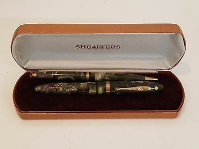 Vintage Sheaffers pen and pencil and box