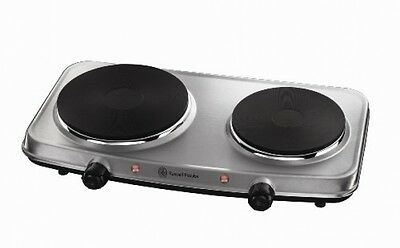 Mini Hot Plate Hob Stainless Steel Portable Electric Travel Cooker Adjustable