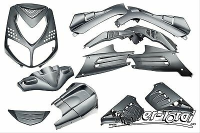 Verkleidungsset anthrazit metallic 13 Teile Peugeot Speedfight 2 Bodypart Kit