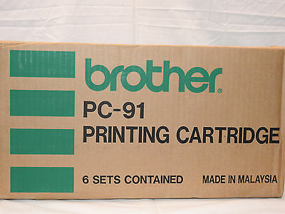 Brother FAX Printing Cartridge PC-91 / Box of 6