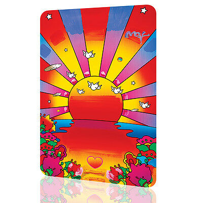 METAL SIGN Peter Max Sunshine Amazing Poster Decor Wall Art Retro Vintage
