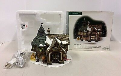 New Department 56 Bayly's Blacksmith Dickens Village Series #56-58495