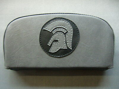 Grey/Black Trojan Scooter Back Rest Cover (Purse Style)