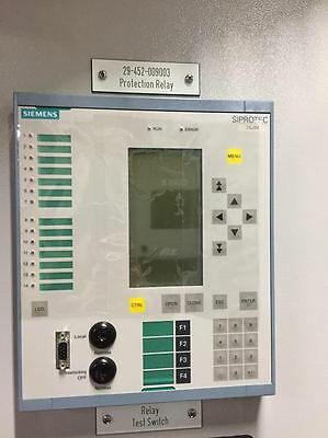 Siemens Siprotec 7SJ64 Protection Relay Meter
