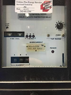 Basler Electric BE1-51/27R Overcurrent Relay