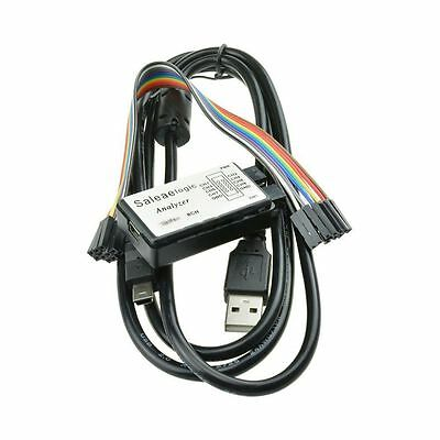USB 24MHz 8CH Logic Analyzer Device Set USB Cable for ARM FPGA M100 D1A3