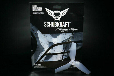 5x4.2x3 SCHUBKRAFT WINGS 3-Blatt Propeller 5042 - SET Silky White