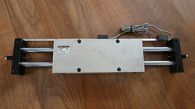 New Smc Pneumatic Guided Cylinder Cdpx2N25-150B-F79W  * New Old Stock*