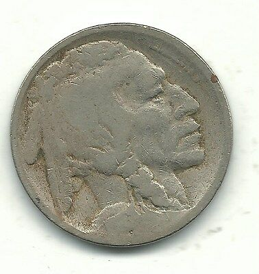 A Better Date Vintage 1916 S Buffalo Nickel-Old Us Coin-Gus28