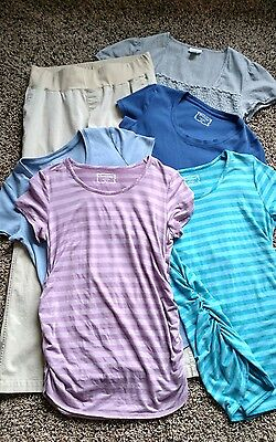 Maternity Clothes LOT of 6 Motherhood Maternity Size Small Medium