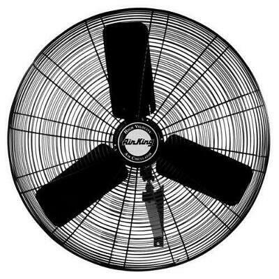 "Air King 9030 30"" 1/4 HP Industrial Grade High Velocity Wall Mount Fan"