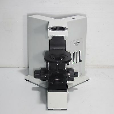 Olympus Bx50 Microscope Body/stand With Light Source - Bx50F4