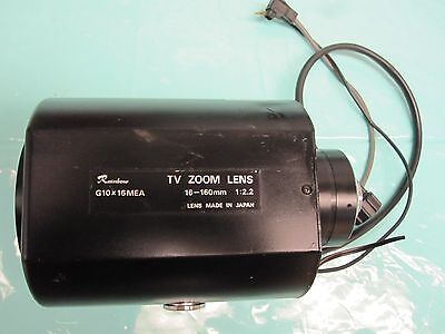 Rainbow G10X16Mea Tv Zoom Lens ( Untested)