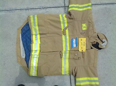 Morning Pride Turnout Gear Coat size 44 and 48 327-333 341-343 firefighter fire