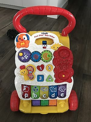 VTech First Steps Baby Walker and Musical Activity Toy