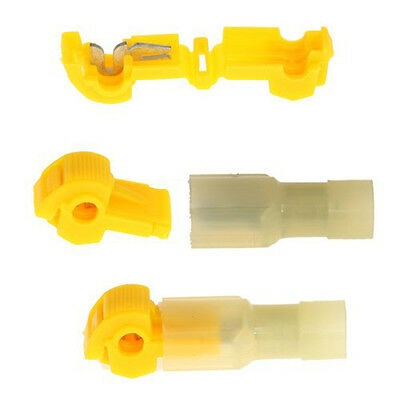 10pcs Wire Tap Connectors T-Tap/Male Insulated Wire Terminal Connectors