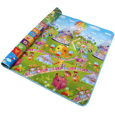 79×71 Inches Extra Large Baby Crawling Mat Non Toxic Baby Play Mat Game