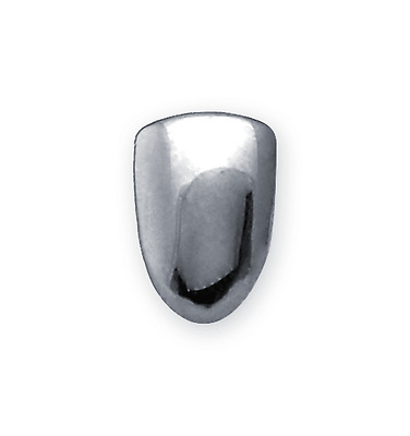 SILVER Single Grillz Tooth Clip Plated Mouth Teeth Cap Grills Bling Hip Hop UK