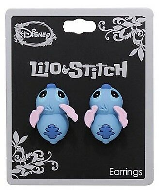 Disney Lilo & Stitch Biting Stud Earrings Gift New With Tags!