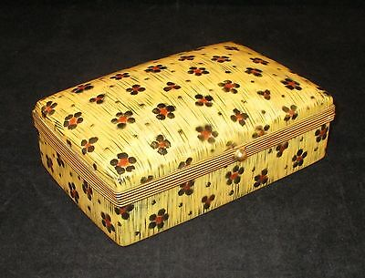 Tiffany Co Private Stock Le Tallec France Painted Porcelain Jewelry Trinket Box