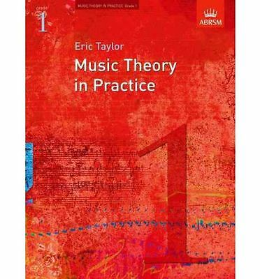 Music Theory in Practice, Grade 1 by Eric Taylor Book | NEW Free Post AU