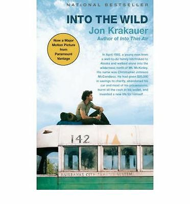 Into the Wild by Jon Krakauer Book | NEW Free Post AU