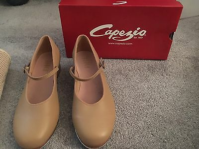 New Capezio Women's Adult Tap Shoes Caramel Nude Dance