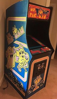 MS. PAC-MAN ARCADE VIDEO GAME Fully Functional