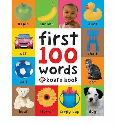 First 100 Words by Roger Priddy Book | NEW Free Post AU