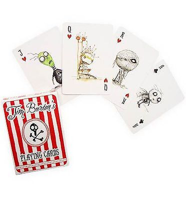 Tim Burton Playing Cards by Tim Burton | NEW Free Post AU