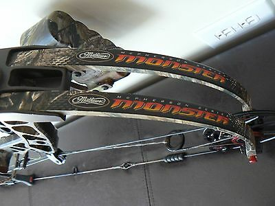 MATHEWS MONSTER 6.0 RH 29.5'' 70 lbs REALTREE COMPOUND BOW COMPLETE