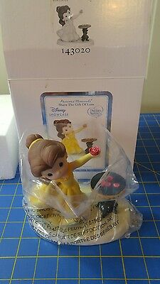 Precious moments Disney Belle with Rose statue Love in Bloom