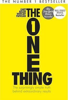 The One Thing : The Surprisingly Simple Truth by Gary Keller Book | New AU