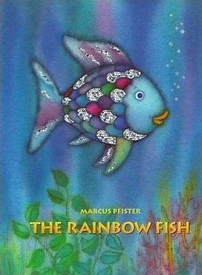 The Rainbow Fish by Marcus Pfister Book | New Free Post AU