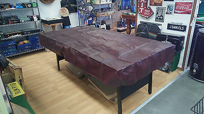 Billiard table cover 7ft - Burgundy