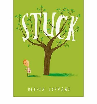 Stuck by Oliver Jeffers Paperback Book (English) | NEW & Free Shipping