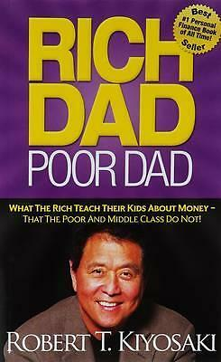 Rich Dad Poor Dad by Robert T. Kiyosaki Paperback Book | NEW & Free Shipping