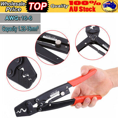 AWG 16-6 Terminal Crimp Pliers Electrical Hand Crimping Tool Wire Stripper Plier