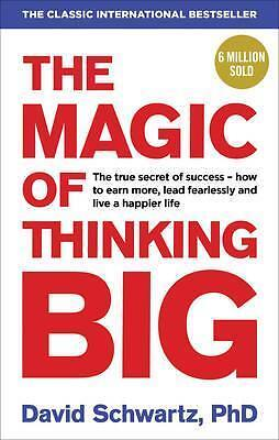 The Magic of Thinking Big by David J. Schwartz Book | New Free Post AU