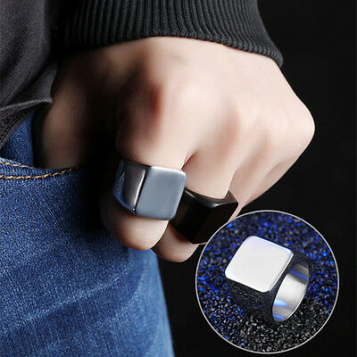 Fashion Gift Cool Mens Armor Knuckle Full Finger Double Ring Punk Rock Gothic
