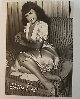 3 Bettie Page Postcards