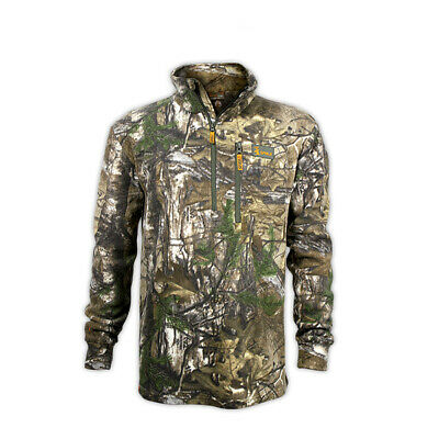 Spika Basecamp Heatfleece Camo Hunting Jumper Top