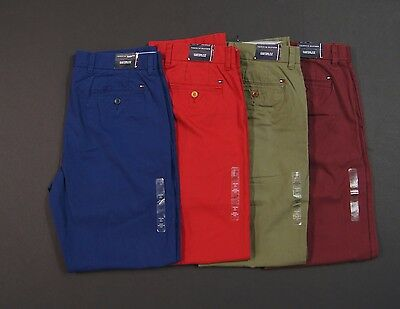 TOMMY HILFIGER Men Custom Fit Colored Cotton Chino Pants NEW NWT